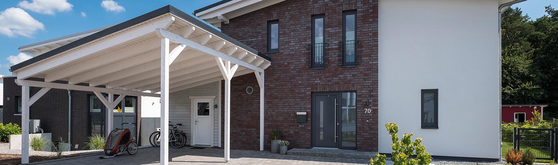 Favorit Carport, Vordach, Terrasse oder Gartenhaus VB77