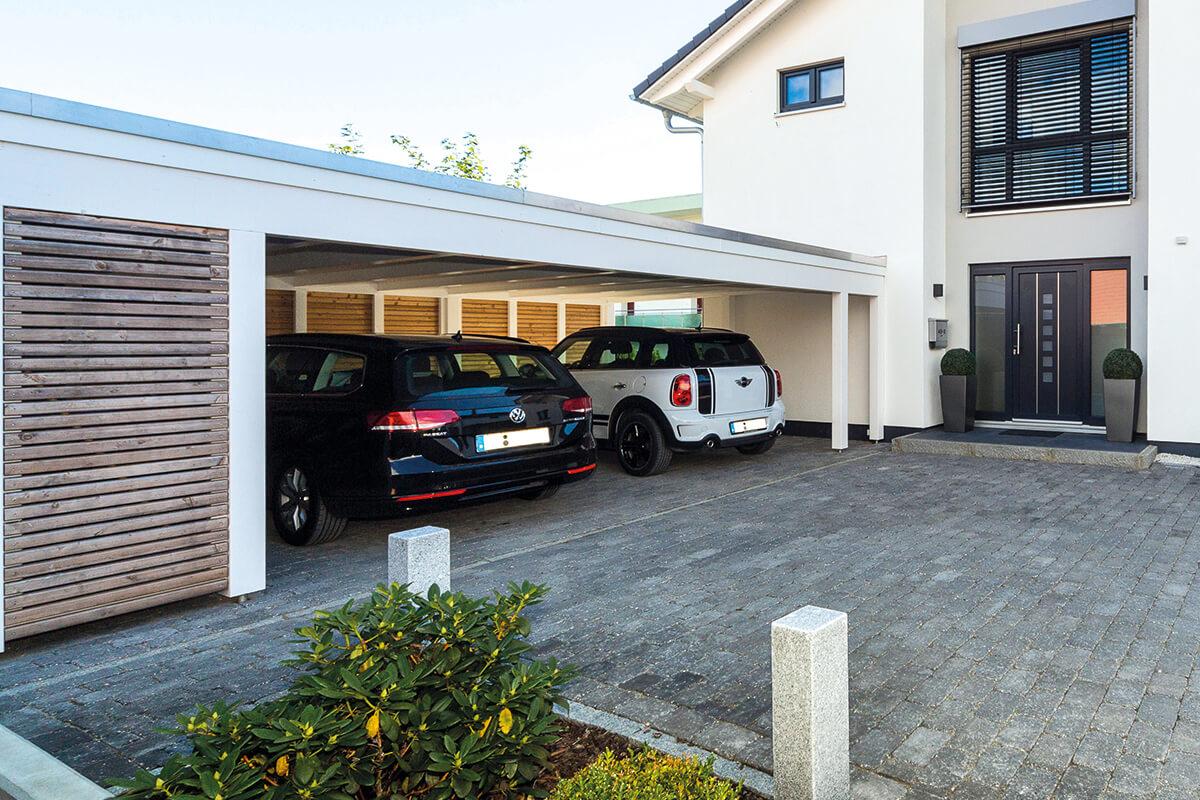 Carport Lösungen carport vordach terrasse oder gartenhaus